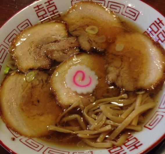 瀧本軒・中華そば+肉
