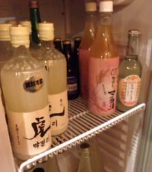 落合駅近くの焼肉・カランコロン東京のマッコリ