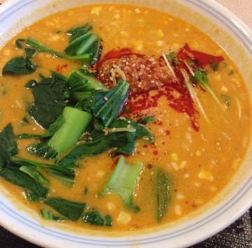 東中野4丁目・新楽園の坦々麺