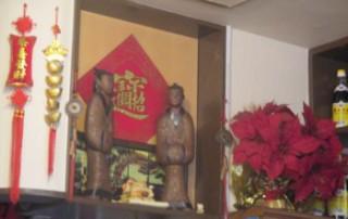 東中野4丁目・新楽園の店内の人形
