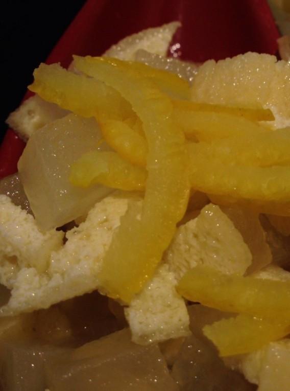 東中野5丁目「つけ麺 しろぼし」の薬味3種