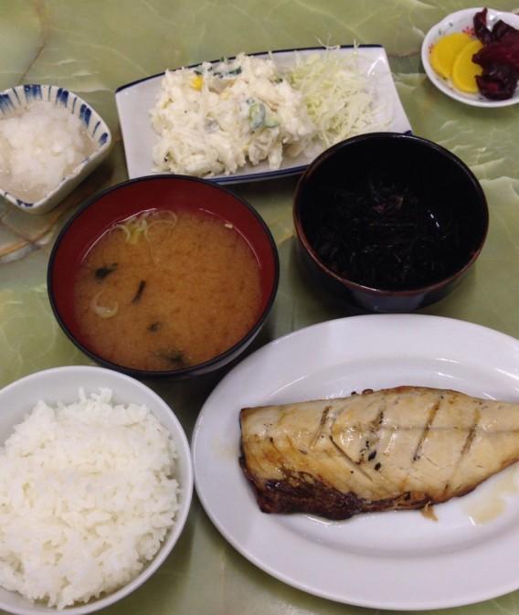 高円寺ヤシロ鯖焼き定食