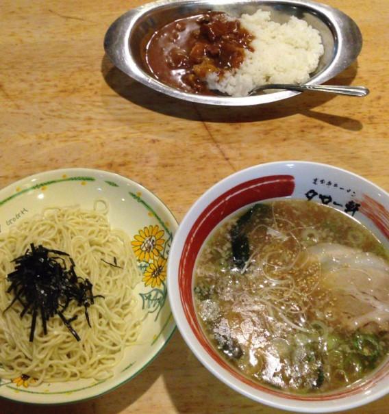 高円寺ラーメンタロー軒つけ麺セット