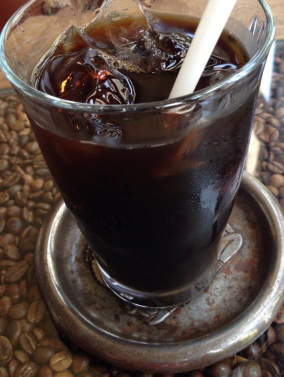 大久保駅南口 喫茶店ツネのアイスコーヒー