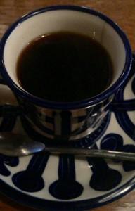高円寺ルック商店街の喫茶店『七ツ森』のコーヒージャーマンロースト