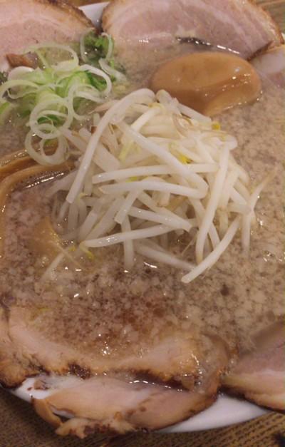 ビストロ de 麺酒場 燿 背脂醤油2種類のチャーシュー