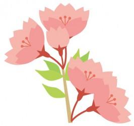 ひがしなかのEKIHIROフェスタ2016春、桜のイメージ