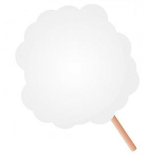 ひがしなかのEKIHIROフェスタ2016春、綿菓子のイメージ