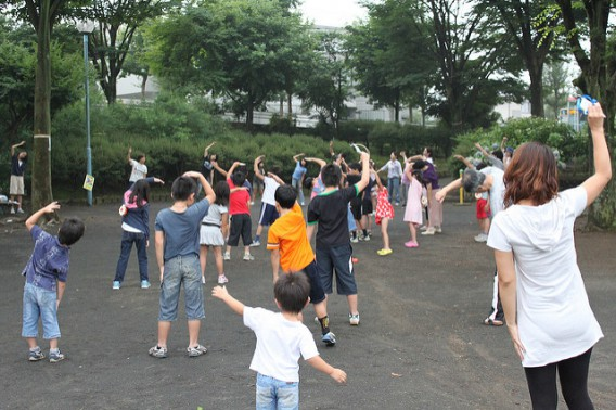 2017年の夏休みに東中野周辺で開催されるラジオ体操情報☆彡夏の体力づくりにお勧め☆ミ