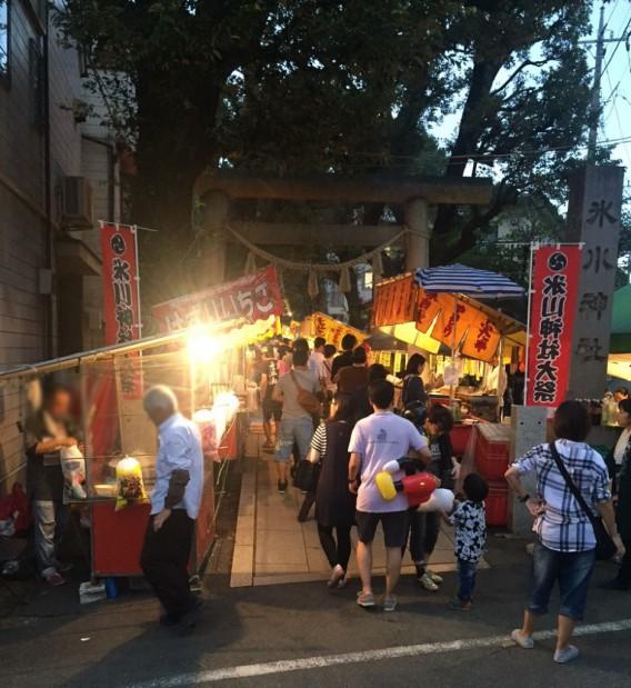東中野、氷川神社の平成29年の秋の例大祭が9月16日、17日に執り行われます