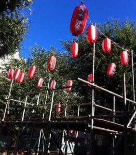 2012,8,23盆踊り会場のみどり公園