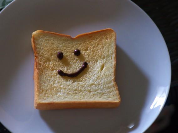 美味しいパンで思わず笑顔に^^