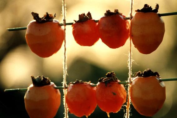 秋のスイーツ~干し柿