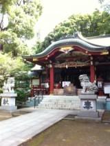 東中野氷川神社境内