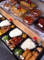 店頭の弁当と惣菜~ひとみ