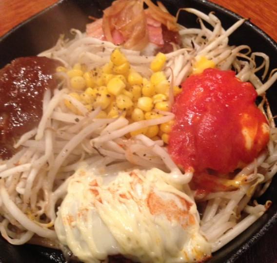 高円寺スターバーグ4種類のハンバーグ
