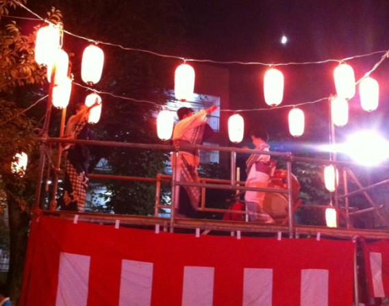 2012年東中野銀座盆踊り大会