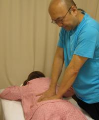 腰部への持続圧