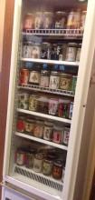 更級丸屋のカップ酒冷蔵庫