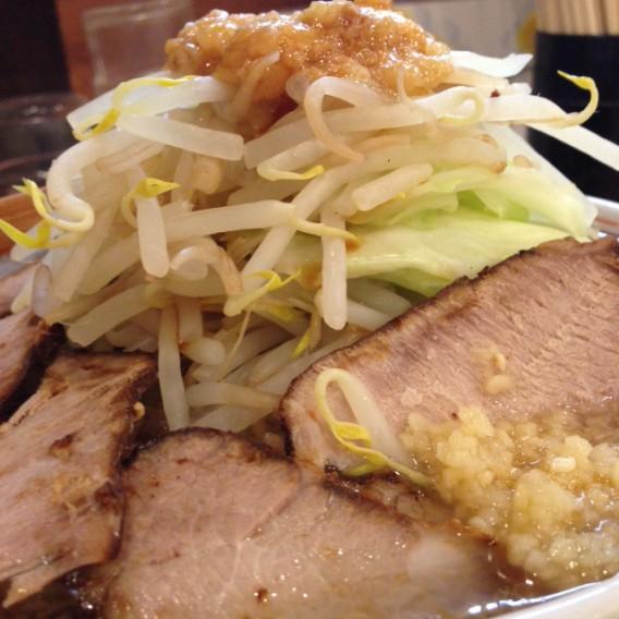 東中野4丁目燿・G麺系ガッツリチャーシューらーめん寄り