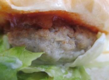 ローソン東中野銀座通り店のまちかど厨房ハンバーガー中