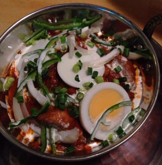 落合のインド料理店amaの以前のタイプのチキンカレー
