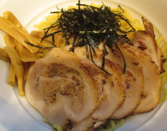 東中野3丁目天鳳のチャーシューつけ麺