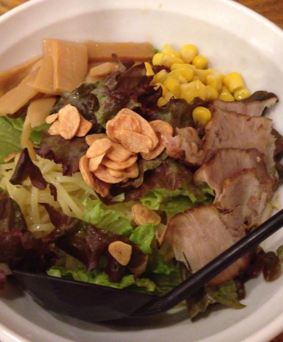 東中野4丁目の燿の和伊麺ゴマダレ