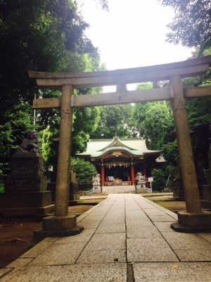 2015.08.30氷川神社ちびっこ祭り~神社境内