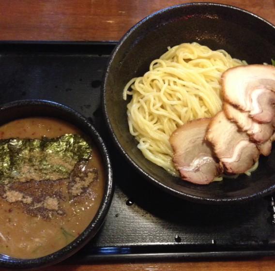 上高田・名越のノーマルつけ麺、チャーシュートッピング