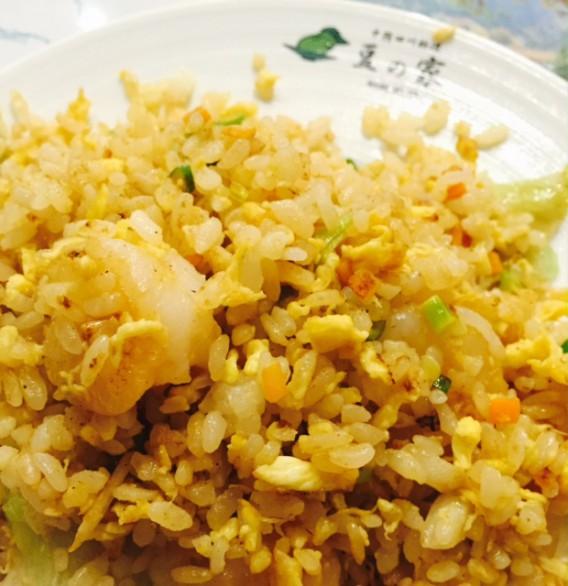 高円寺南口の四川料理豆の家の炒飯