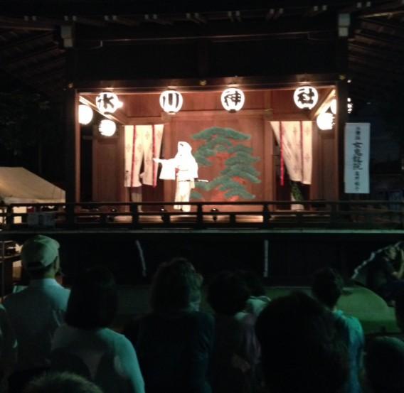 氷川神社2014年秋の祭礼奉納