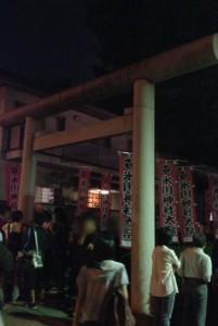 氷川神社2014年秋の祭礼の様子