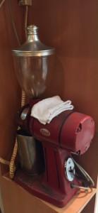 ブロードウェイ地下プチパリのチャレンジャーのコーヒーミル