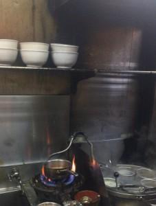 東中野一丁目楓家の調理場