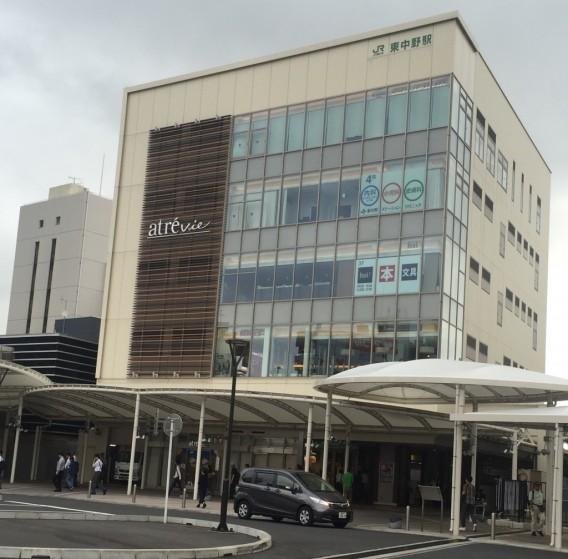 ひがしなかの EKIHIRO フェスタ夏・イメージの西口駅前広場