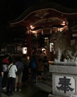 2016氷川神社祭り本堂
