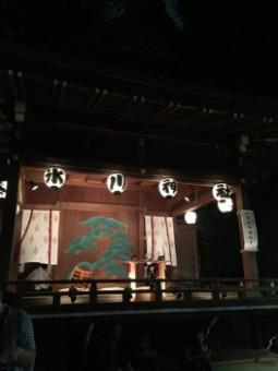 2016氷川神社祭り能楽殿