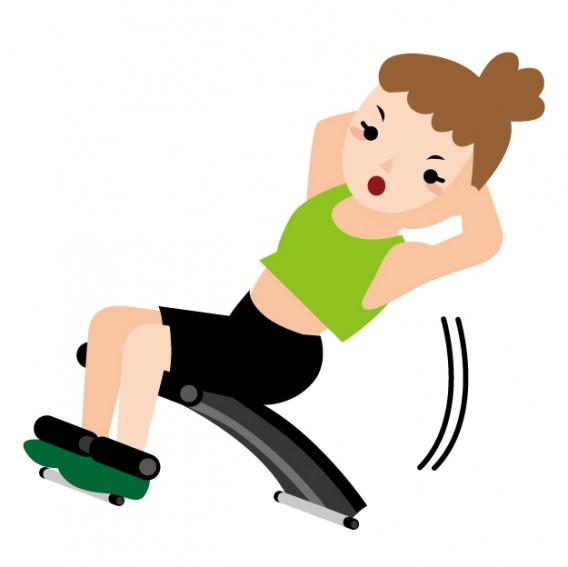 【腹筋運動は正しいやり方で!】間違った腹筋運動はかえって腰痛の原因に
