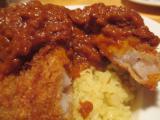 落合のインド料理店amaのカツカレー
