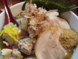 東中野5丁目「つけ麺 しろぼし」の醤油炊き しろぼし らーめん