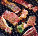 東中野4丁目の漢江の焼き肉の網